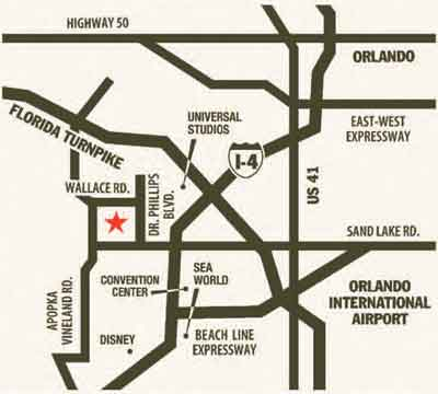 Sanctuary at Bay Hill Map